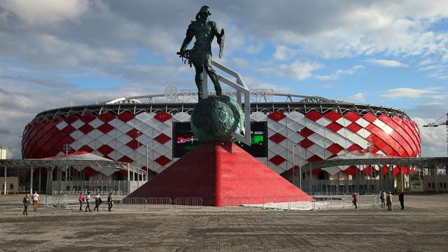 Монтаж и наладка автоматической установки порошкового пожаротушения футбольного стадиона «Спартак»